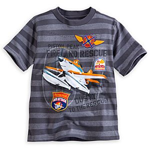 Dusty Crophopper Striped Tee for Boys
