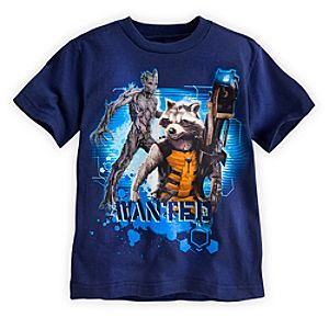 Rocket and Groot Tee for Boys - Marvels Guardians of the Galaxy