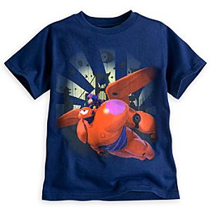 Hiro and Baymax Mech Tee for Boys - Big Hero 6