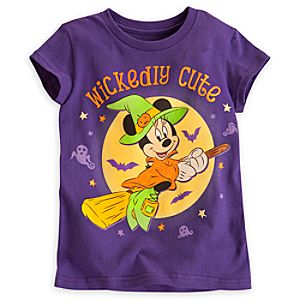 Minnie Mouse Witch Tee for Girls