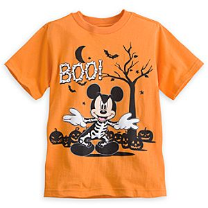 Mickey Mouse Skeleton Tee for Boys