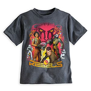 Star Wars Rebels Heathered Tee for Boys
