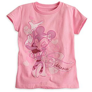 Minnie Mouse Ballerina Tee for Girls