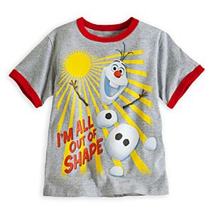 Olaf Ringer Tee for Boys - Frozen