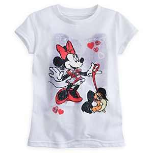 Minnie Mouse and Fifi Tee for Girls