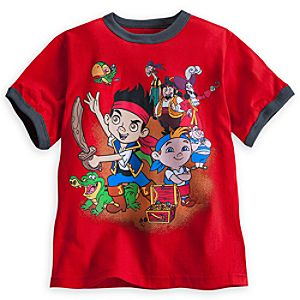 Jake and the Never Land Pirates Ringer Tee for Boys