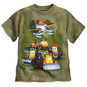 Smokejumpers Tee for Boys - Planes: Fire & Rescue