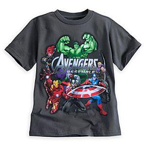 Avengers Assemble Tee for Boys