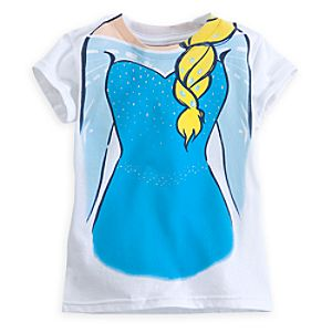 Elsa Costume Tee for Girls