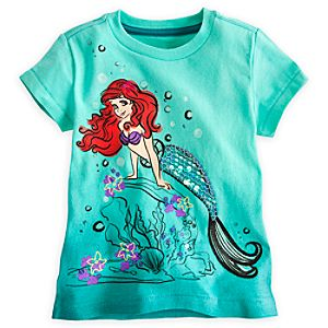 Ariel Tee for Girls - Deluxe Storytelling