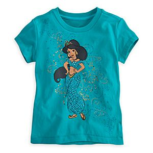 Jasmine Tee for Girls - Deluxe Storytelling