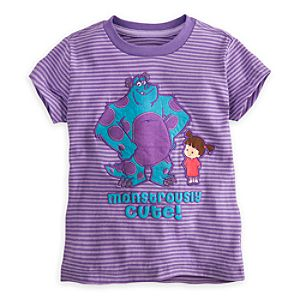 Sulley and Boo Tee for Girls - Deluxe Storytelling
