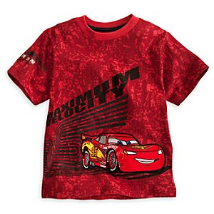 Lightning McQueen Tee for Boys - Deluxe Storytelling
