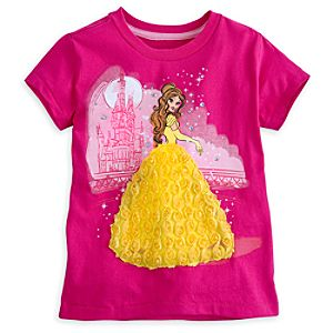 Belle Tee for Girls - Deluxe Storytelling