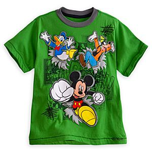 Mickey Mouse and Friends Tee for Boys - Deluxe Storytelling