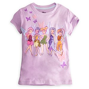 Embellished Storytelling Disney Fairies Tee for Girls
