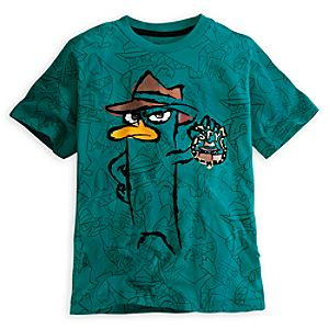 Agent P Tee for Boys - Deluxe Storytelling