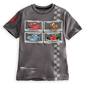 Embellished Storytelling Cars 2 Tee for Boys
