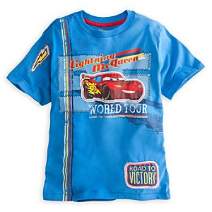 Embellished Storytelling Lightning McQueen Tee for Boys