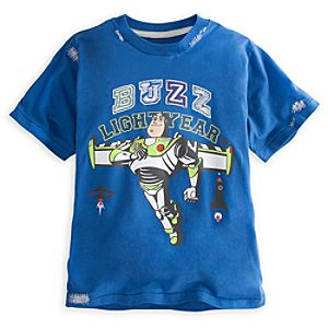 Deluxe Storytelling Buzz Lightyear Tee for Boys