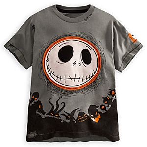 Embellished Storytelling Jack Skellington Tee for Boys