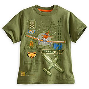 Planes Tee for Boys - Deluxe Storytelling
