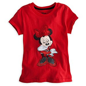 Deluxe Storytelling Minnie Mouse Tee for Girls