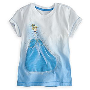 Deluxe Storytelling Cinderella Tee for Girls