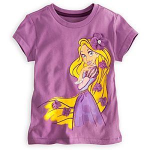Deluxe Storytelling Rapunzel Tee for Girls