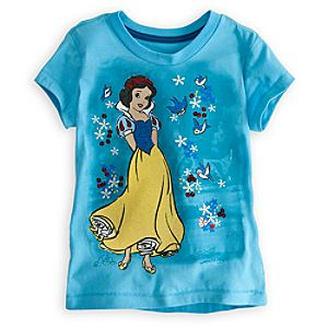 Deluxe Storytelling Snow White Tee for Girls