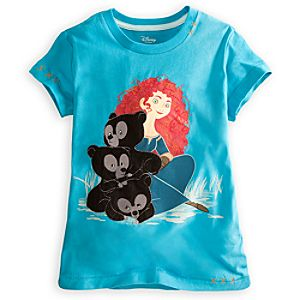 Embellished Storytelling Brave Tee for Girls