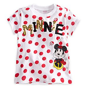 Minnie Mouse Tee for Girls - Deluxe Storytelling