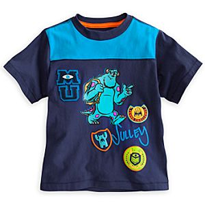 Sulley Tee for Boys - Monsters University- Deluxe Storytelling
