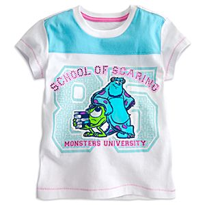Monsters University Tee for Girls- Deluxe Storytelling