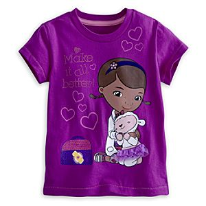 Doc McStuffins Tee for Girls - Deluxe Storytelling