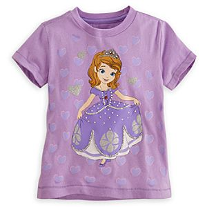 Sofia the First Tee for Girls - Deluxe Storytelling