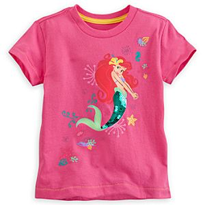 Ariel Pink Tee for Girls - Deluxe Storytelling