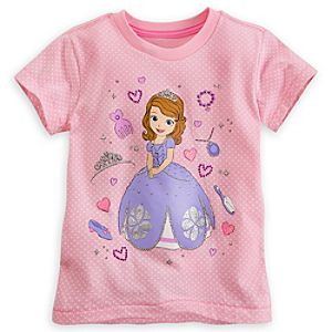 Sofia Polka-Dot Tee for Girls - Deluxe Storytelling