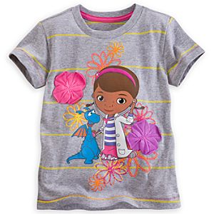 Doc McStuffins Flower Tee for Girls - Deluxe Storytelling