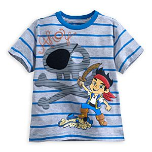 Jake Striped Tee for Boys - Deluxe Storytelling