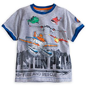 Planes: Fire & Rescue Ringer Tee for Boys