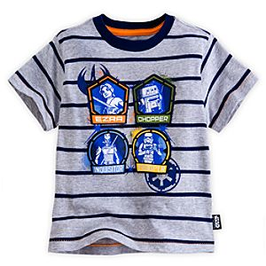 Star Wars Rebels Tee for Boys - Deluxe Storytelling