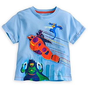 Big Hero 6 Tee for Boys - Deluxe Storytelling
