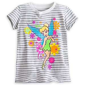 Tinker Bell Striped Tee for Girls