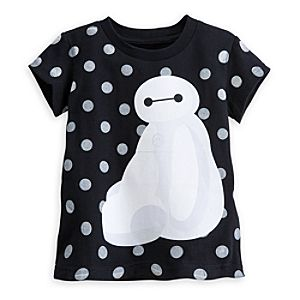 Baymax Tee for Girls - Big Hero 6