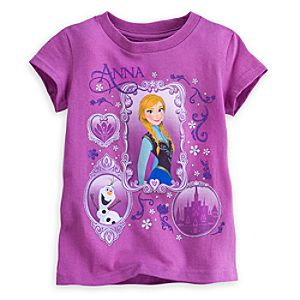 Anna and Olaf Tee for Girls