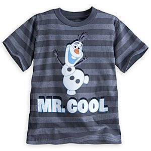 Olaf Striped Tee for Boys - Frozen