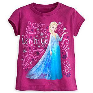 Elsa Tee for Girls