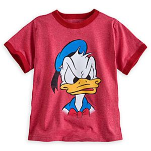 Donald Duck Ringer Tee for Boys