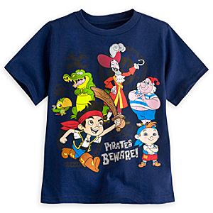 Jake and the Never Land Pirates Tee for Boys